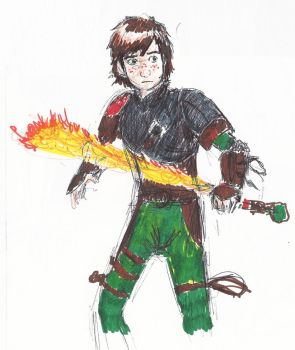 Hiccup! by little-ampharos