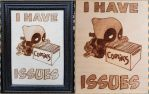 Woodburning - I Have Comiks Issues - Deadpool by Stepher17