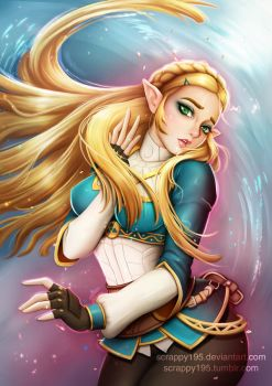 Zelda - Breath of the Wild by Scrappy195