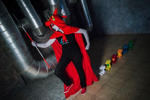 Dragon Cape Terezi Pyrope Cosplay by Sioxanne