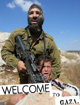 welcome to gaza by ANTI-SYSTEM