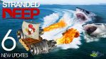 Sharks from HELL! - STRANDED DEEP #6 [New updates] by GEEKsomniac