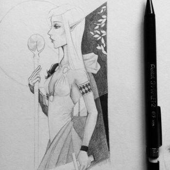 Sketch a Day 9 by HBisley-Art