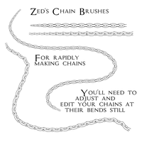 Chain Brushes by Zedrin
