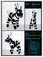 Plush - Zebstrika - For Sale