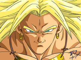 Broly by RayDesanto