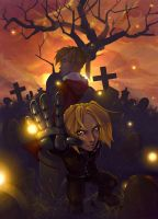 FMA: Elric Brothers. by Kinky-chichi