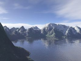 snowy regions terragen by gchj555
