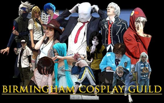 Birmingham Cosplay Guild by PSYPSYPSYYY