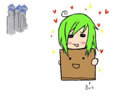 girl and the box by MagicalFailure-Jamez