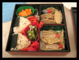 First Bento by crazed-fangirl