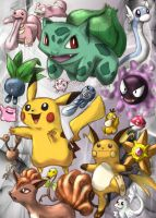 Pokemon collage by jeffica