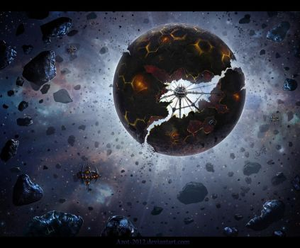 Cyborg`s Planet by Azot2017