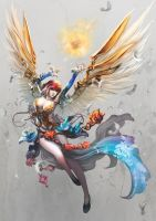 chinese angel by antilous