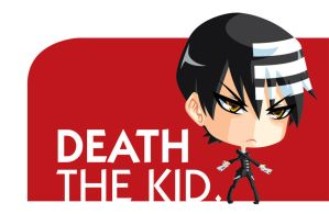 Death the Kid Chibi by Aniteen9
