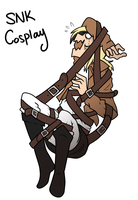 How SNK cosplay really is by Aishyu