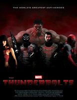 Marvel's THE THUNDERBOLTS - POSTER I by MrSteiners