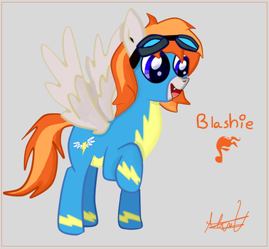 Hi Blashie by Maxiblash