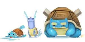 DAY 438. Squirtle Line