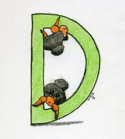 D is for Dwebble