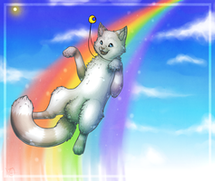 Somewhere over the rainbow c: by Kariotic