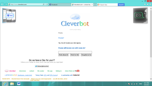 Even Clever bot... by EspeonUmbreonLover