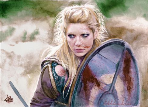 the shieldmaiden by Ithilloth