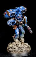 [Wh40k] Assault Sargeant / Captain II by Mineraleater