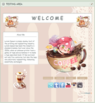 F2U Pastel Coffee Page by rollingpoly