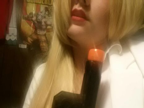 Alex Wesker Cosplay (WIP) 3 by ChibiLovett