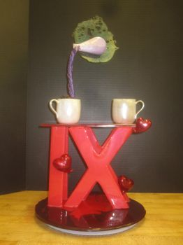 Love Potion #9 Sugar Showpiece by recycledrapunzel