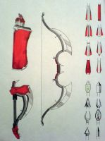 Conceptual Bow and Arrow by editwilson