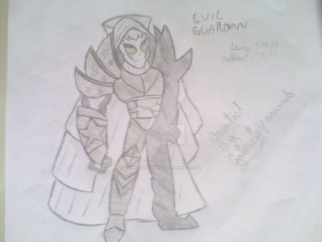 my first aqw draw by gabrieldarkness