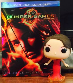 Movie and Funko Pop - The Hunger Games  by FlyingPrincess