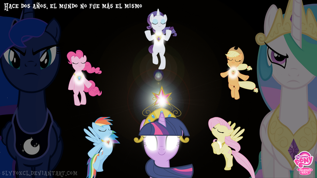 Anniversary MLP Wallpaper by SlyFoxCl