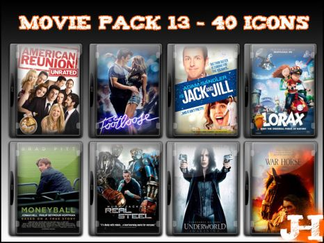 Movie Pack 13 - 40 Icons by jake2456