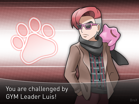 [Commission] Gym Leader Luis by Brex5