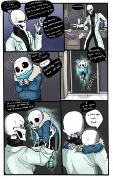 Bad days 3- Skelefam Undertale. by TheBombDiggity666