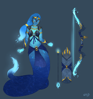 T5 Medusa Concept | Water Form by BookmarkAHead