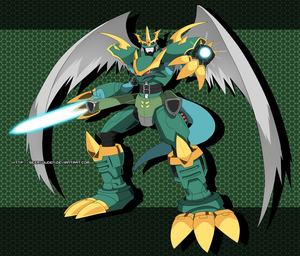Commission: Imperialdramon Dragoon Mode by seiryuuden