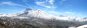 Mt St Helens by cresent-lunette