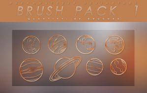 Brush Pack 1 - The Planets by reeawhatever