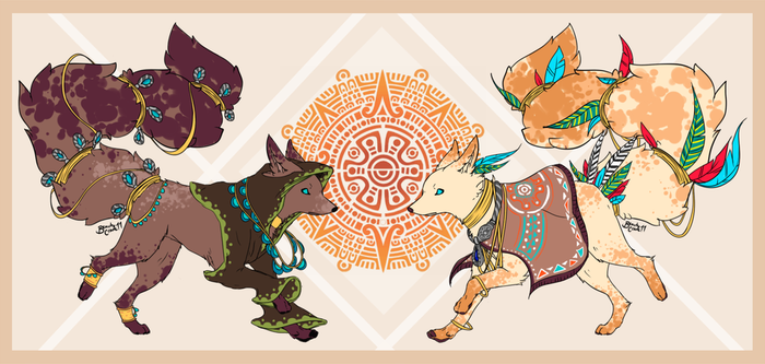 [2/2 Open] Aztec [Istil Adopts] by BC-Rain