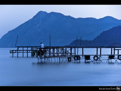 Lonesome in Blue by MKO