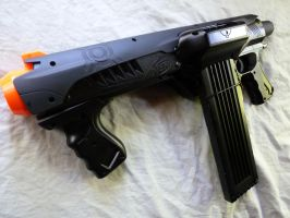 Steam Punk Nerf Gun Tsarist Fury Wood Grip By Marcwf On