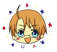 - APH : Chibi! America - Alfred F. Jones by Choconutcream