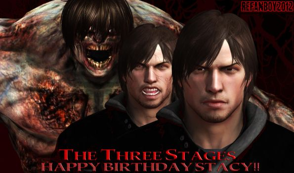 The Three Stages - Happy Birthday Stacy! by REFanBoy2012