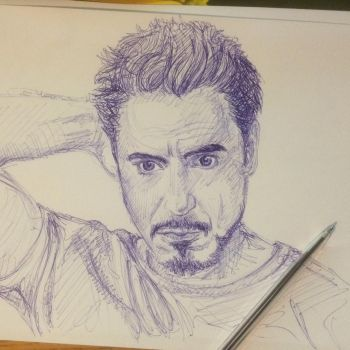 Robert Downey Jr by sarims