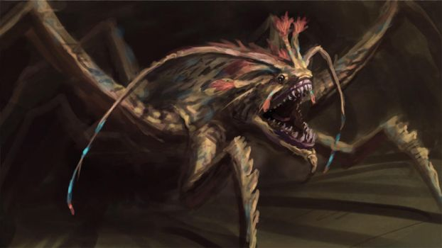 Angry bug by Cloister