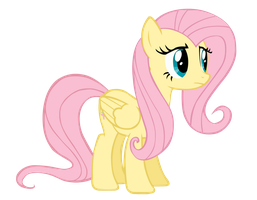 Fluttershy Vector by Bl1ghtmare